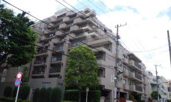 駒込東公園交差点近くの住まい